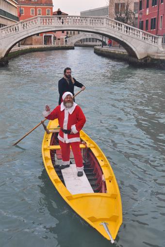 L'arrrivo di Babbo Natale 2013 - Foto di Davide Toffanin - Servizio videocomunicazione Città di Venezia