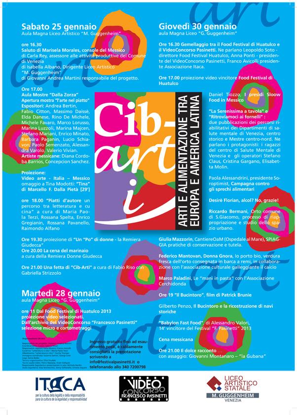Locandina Cib-arti Venezia gennaio 2014
